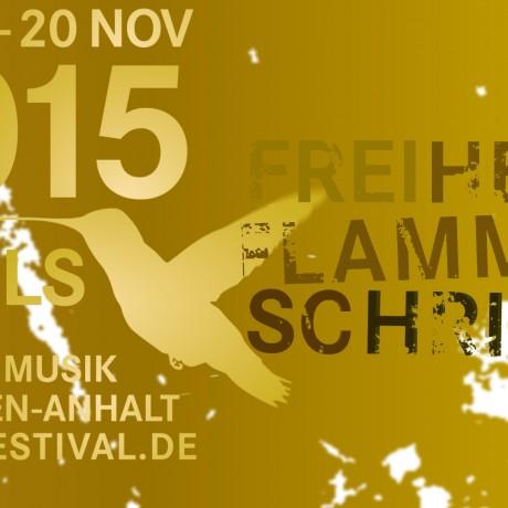 Impuls 2015 : FREIHEIT FLAMMEN SCHRIFT